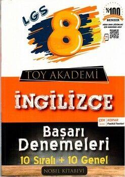 Toy Akademi Yayınları 8. Sınıf LGS İngilizce Başarı Denemeleri