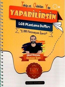 Toy Akademi Yayınları 8. Sınıf LGS Takip Et Odaklan Planlama Defteri