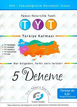 Transfer Yayınları YKS 1. Oturum TYT Türkiye Karması 5 Deneme