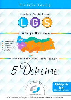 Transfer Yayınları 8. Sınıf LGS Türkiye Karması 5 Deneme