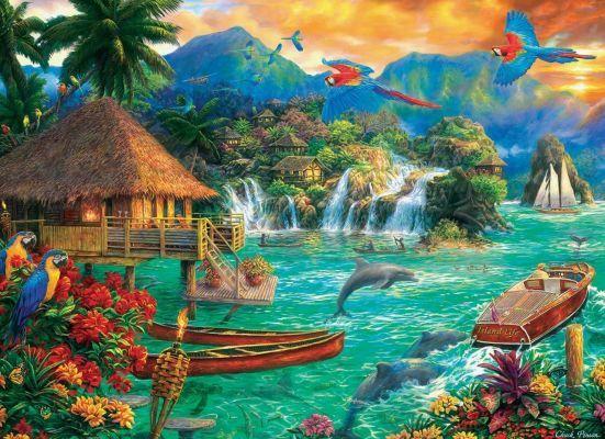 Trefl Puzzle Island Life 3000 Parça