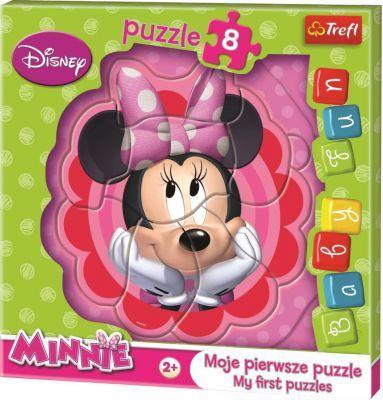 Trefl Puzzle Baby Minnie Bowtique 8 Parça Yapboz