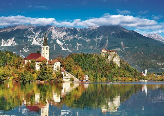 Trefl Puzzle Bled, Slovenia 500 Parça
