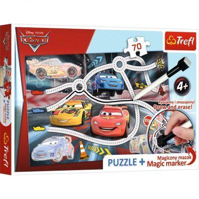 Trefl Puzzle Cars 2 70 Parça Yapboz + Kalem