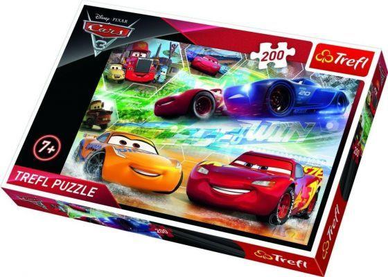 Trefl Puzzle Cars 3 Road to Victory  200 Parça Yapboz
