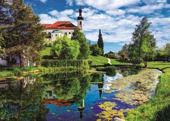 Trefl Puzzle Chiemsee Lake, Bavaria 500 Parça