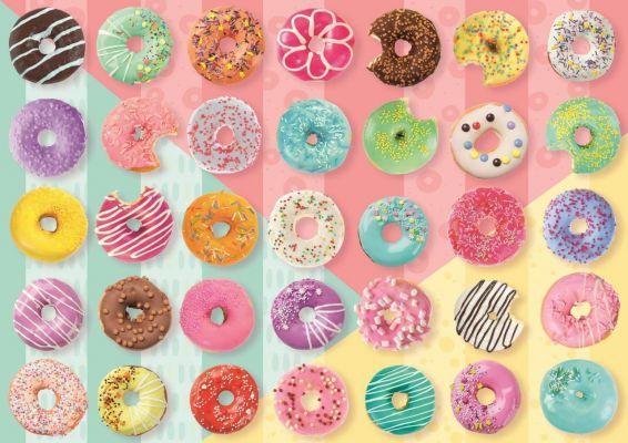 Trefl Puzzle Doughnuts 500 Parça