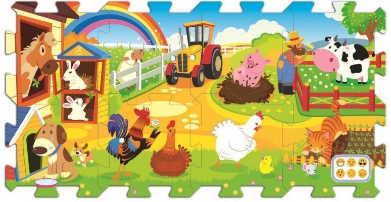 Trefl Puzzle Farm Fun 20 Köpük Parça Yer Puzzle\'ı