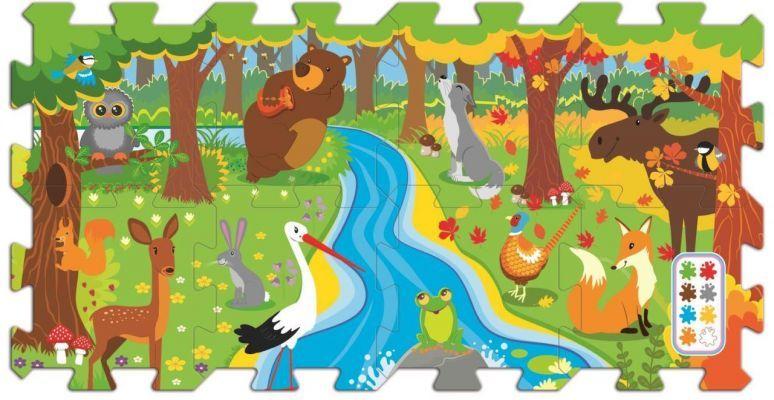 Trefl Puzzle Forest Run 20 Köpük Parça Yer Puzzle\'ı