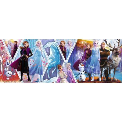 Trefl Puzzle Frozen II 1000 Parça Panorama
