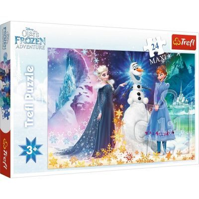 Trefl Puzzle Frozen In The Starlight 24 Parça Maxi Yapboz