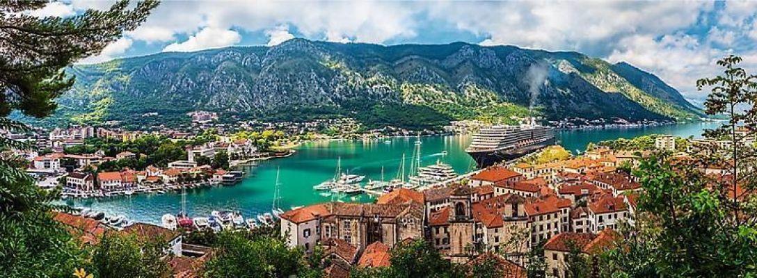Trefl Puzzle Kotor, Montenegro 500 Parça Panorama