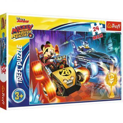 Trefl Puzzle Mickey Taste Of Adventure 24 Parça Maxi Yapboz