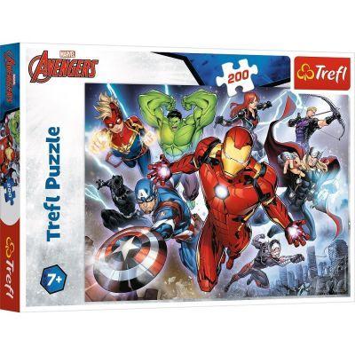Trefl Puzzle Mighty Avengers 200 Parça Yapboz
