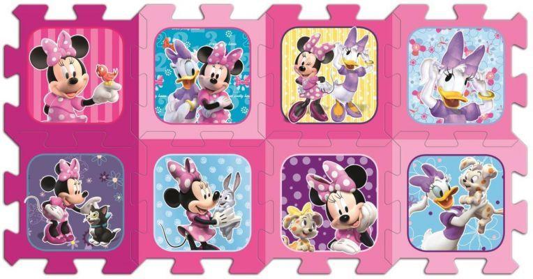 Trefl Puzzle Minnie 20 Köpük Parça Yer Puzzle\'ı