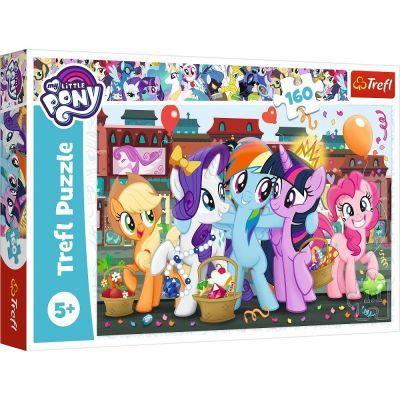 Trefl Puzzle My Little Pony Ponies While Shopping 160 Parça Yapboz