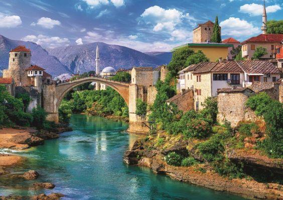Trefl Puzzle Old Bridge In Mostar, Bosnia And Herzerg 500 Parça