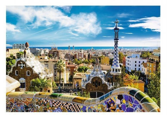 Trefl Puzzle Park Güell, Barcelona 1500 Parça