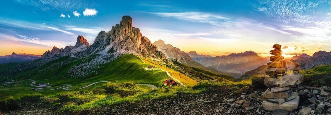 Trefl Puzzle Passo Di Giau, Dolomites 1000 Parça