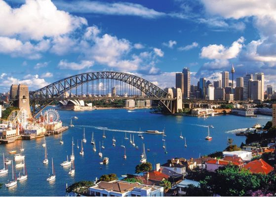 Trefl Puzzle Port Jackson, Sydney 1000 Parça