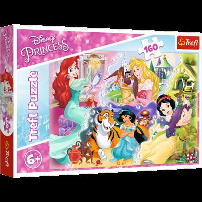 Trefl Puzzle Princesses and Friends  160 Parça Yapboz