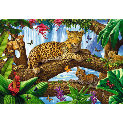 Trefl Puzzle Resting Among The Trees 1500 Parça
