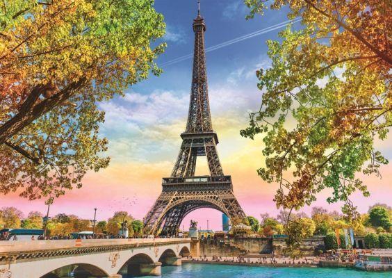 Trefl Puzzle Romantic Paris 500 Parça