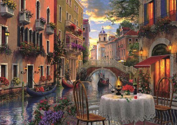 Trefl Puzzle Romantic Supper  6000 Parça