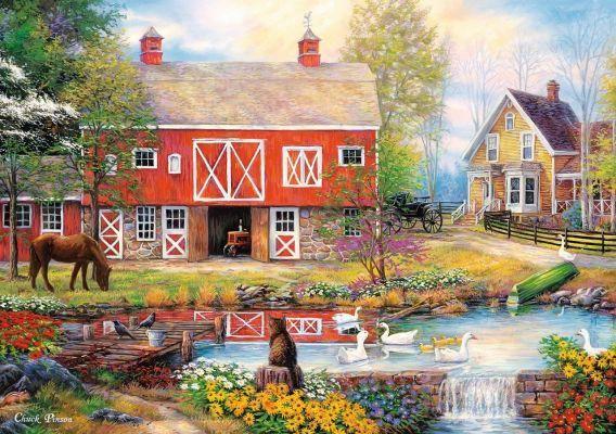 Trefl Puzzle Rural Life 2000 Parça