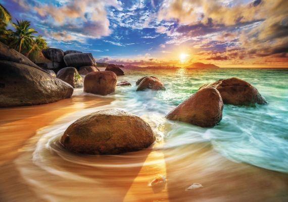 Trefl Puzzle Samudra Beach, India 1000 Parça