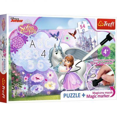Trefl Puzzle Sofia The First 54 Parça Yapboz + Kalem