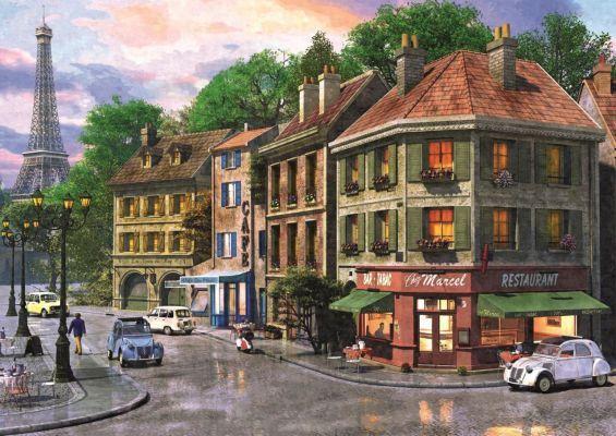 Trefl Puzzle Street Of Paris 6000 Parça