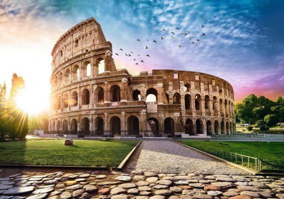 Trefl Puzzle Sun-Drenched Colosseum 1000 Parça