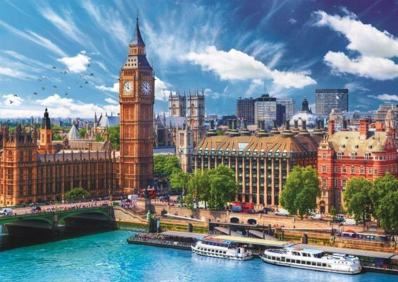 Trefl Puzzle Sunny Day In London 500 Parça