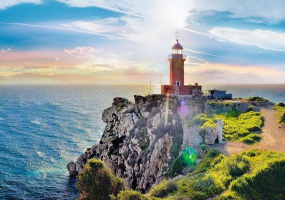 Trefl Puzzle The Melagavi Lighthouse 1000 Parça