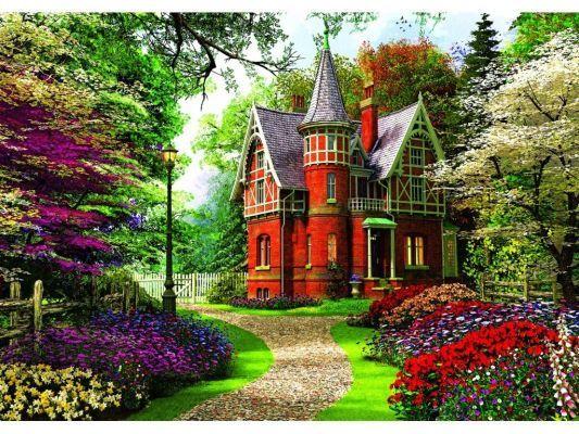 Trefl Puzzle Victorian Cottage 1000 Parça