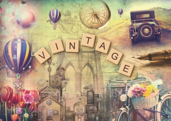 Trefl Puzzle Vintage 500 Parça