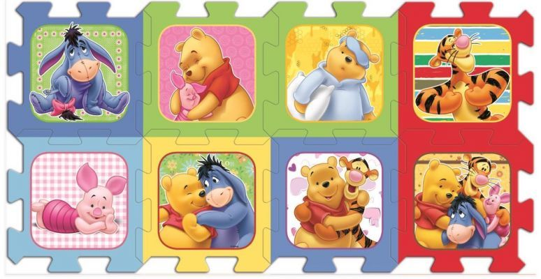 Trefl Puzzle Winnie The Pooh 20 Köpük Parça Yer Puzzle\'ı