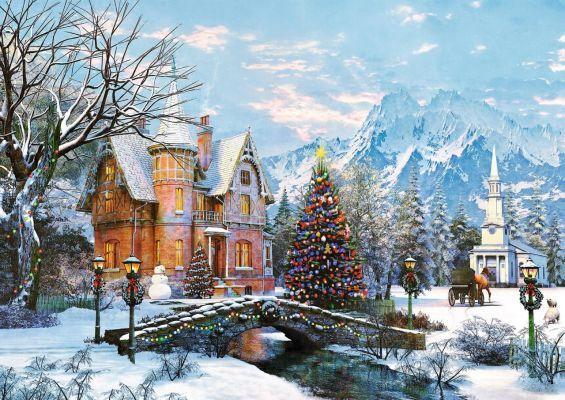 Trefl Puzzle Winter Landscape 1000 Parça