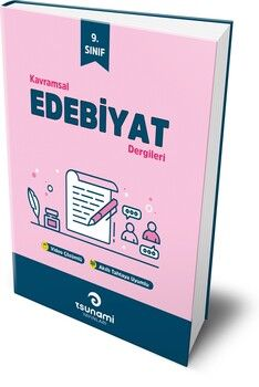 Tsunami Yayınları 9. Sınıf Türk Dili ve Edebiyatı Kavramsal Dergileri 4 Fasikül