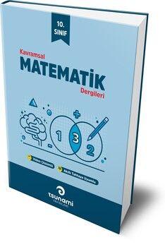 Tsunami Yayınları 10. Sınıf Matematik Kavramsal Dergileri 4 Fasikül