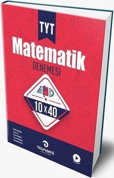 Tsunami Yayınları TYT Matematik 10x40 Deneme