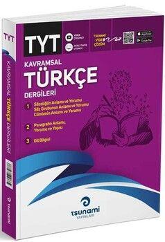 Tsunami Yayınları TYT Kavramsal Türkçe Dergileri 3 Fasikül