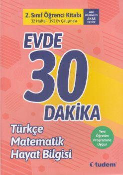 Tudem 2. Sınıf Evde 30 Dakika Türkçe Matematik Hayat Bilgisi Soru Ev Çalışması