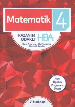 Tudem 4. Sınıf Matematik Kazanım Odaklı HBA Konu Anlatımı Çözümlü Sorular