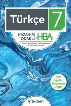 Tudem 7. Sınıf Türkçe Kazanım Odaklı HBA Konu Anlatımı Çözümlü Sorular