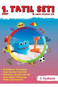 Tudem Yayınları 1. Sınıf Tatil Seti