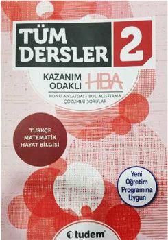 Tudem Yayınları 2. Sınıf Tüm Dersler Kazanım Odaklı HBA