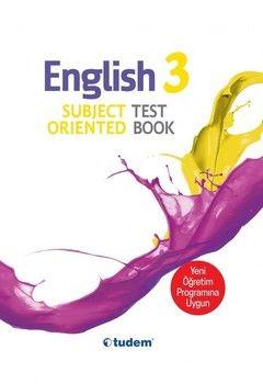Tudem Yayınları 3.Sınıf English Subject Oriented Testbook