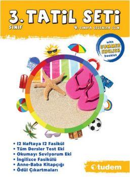 Tudem Yayınları 3. Sınıf Tatil Seti 4. Sınıfa Geçenler İçin